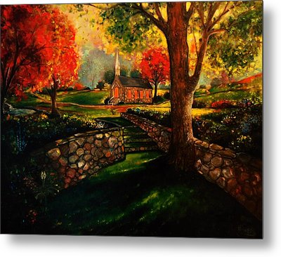 Home Is Home Metal Print by Emery Franklin
