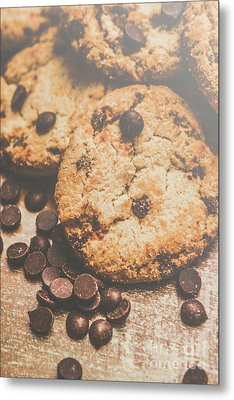 Home Made Biscuit Batch Metal Print