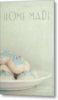 Home Made Cookies Metal Print by Priska Wettstein