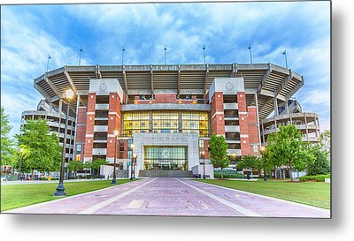 Home Of Champions -- Bryant-denny Stadium Metal Print