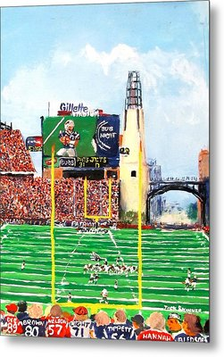 Home Of The Pats Metal Print by Jack Skinner