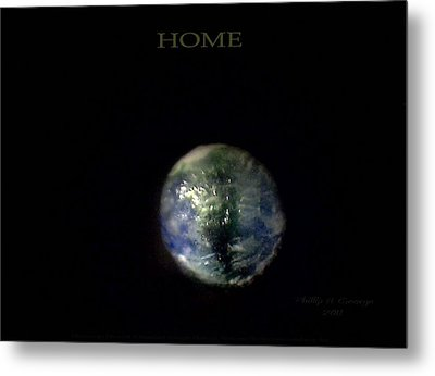 Home Metal Print by Phillip H George