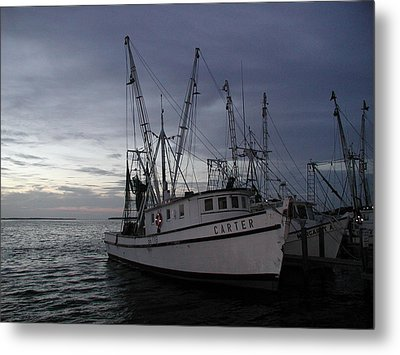 Metal Print featuring the photograph Home Port by Nancy Taylor