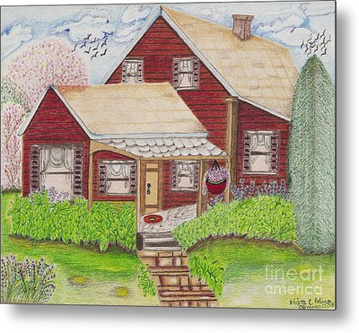 Home-sweet-home Metal Print