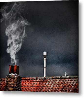 Home Sweet Home Metal Print by Piet Flour