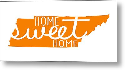 Metal Print featuring the digital art Home Sweet Home Tennessee by Heather Applegate
