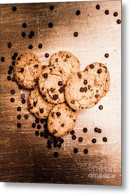 Homemade Biscuits Metal Print by Jorgo Photography - Wall Art Gallery