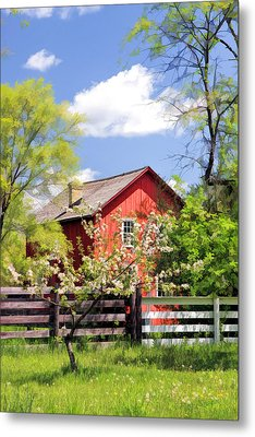 Homestead At Old World Wisconsin Metal Print by Christopher Arndt