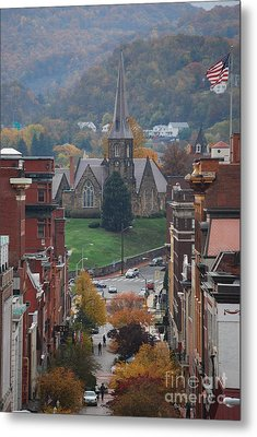 My Hometown Cumberland, Maryland Metal Print by Eric Liller