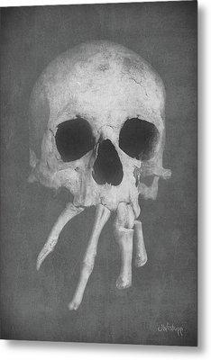 Homo Spidercus Metal Print by Joseph Westrupp