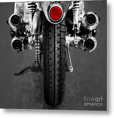 Honda Four Metal Print by Ari Salmela