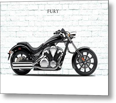 Honda Fury Metal Print by Mark Rogan