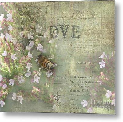 Honey Love Metal Print