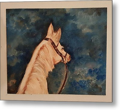 Honey Palomino Horse 28 Metal Print