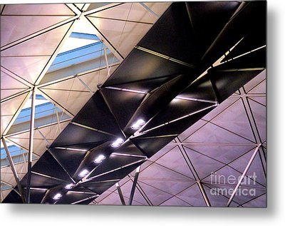 Metal Print featuring the photograph Hong Kong Airport by Randall Weidner