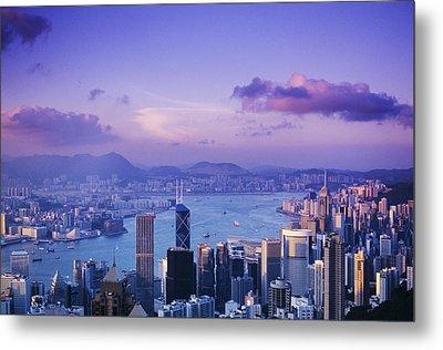 Hong Kong Harbor Metal Print by Gloria & Richard Maschmeyer - Printscapes