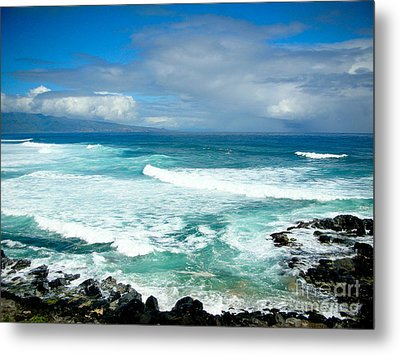 Hookipa Beach Maui Metal Print by Kelly Wade