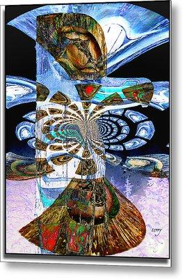 Hoonah Totem Metal Print