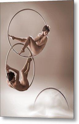Hoop Dreams Metal Print by Dario Infini