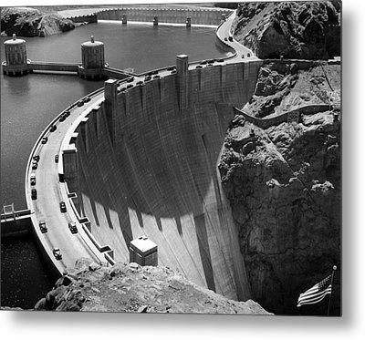 Hoover Dam, 1948 Metal Print