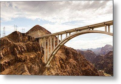 Hoover Dam Bridge, Nevada Metal Print by Phong Trinh