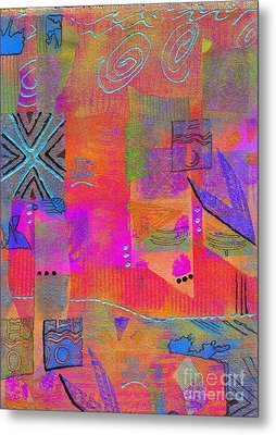 Metal Print featuring the mixed media Hope And Dreams by Angela L Walker