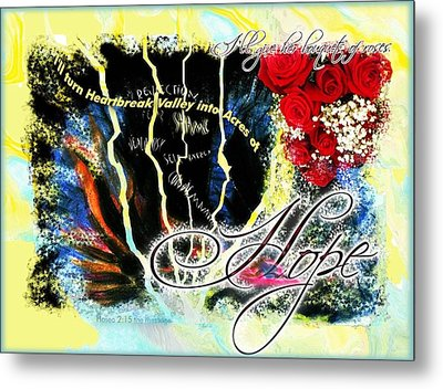 Hope Metal Print by Cassandra Donnelly