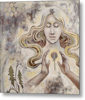 Metal Print featuring the painting Hope by Sheri Howe