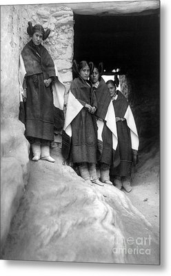 Hopi Maidens, 1906 Metal Print by Granger