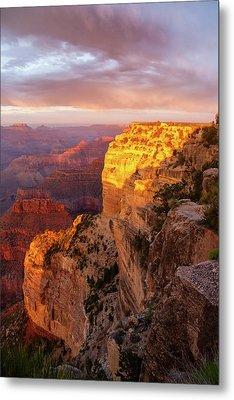 Hopi Point Sunset 2 Metal Print by Arthur Dodd