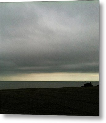 Horizon Light Metal Print