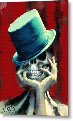Horror Freak Metal Print by Melanie D