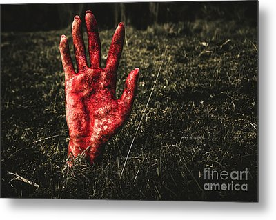 Horror Resurrection Metal Print by Jorgo Photography - Wall Art Gallery