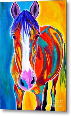 Horse - Pistol Metal Print by Alicia VanNoy Call