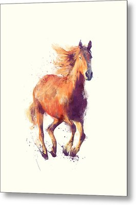 Horse // Boundless Metal Print by Amy Hamilton