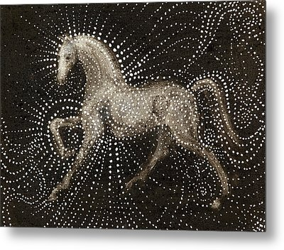 Horse Metal Print by Sophy White