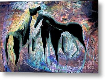 Horses 7 Metal Print