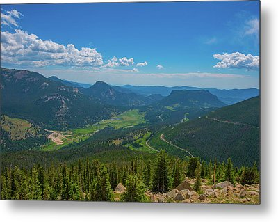 Horseshoe Park From Rainbow Curve 1 Metal Print