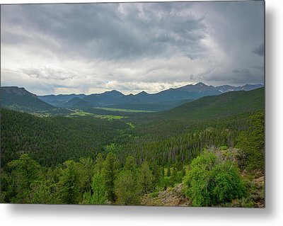 Horseshoe Park From Rainbow Curve 2 Metal Print