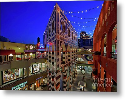 Horton Plaza Shopping Center Metal Print by Sam Antonio Photography