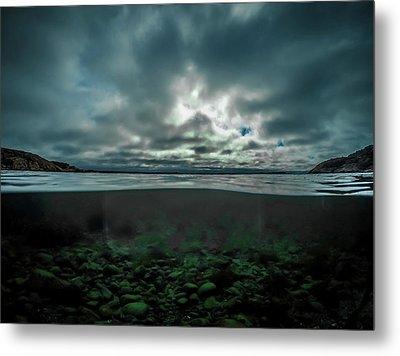 Metal Print featuring the photograph Hostsaga - Autumn Tale by Nicklas Gustafsson