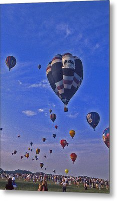 Hot Air Balloon - 14 Metal Print