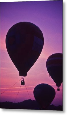 Hot Air Balloon - 8 Metal Print