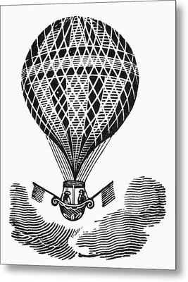 Hot Air Balloon Metal Print by Granger