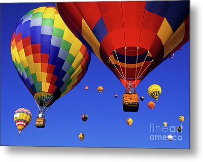 Hot Air Balloons Albuquerque Metal Print