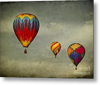 Hot Air Balloons Metal Print