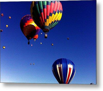 Hot Air Balloons Metal Print by Jera Sky