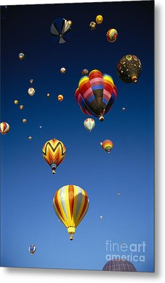 Hot Air Balloons Metal Print by Michael Howell - Printscapes