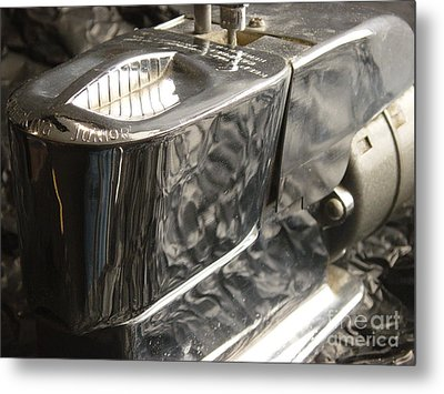 Hot Lather Shave Cream Dispenser Metal Print by Jason Freedman