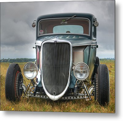 Hot Rod Metal Print